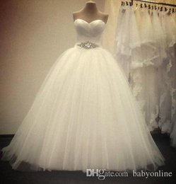 Size 18w Wedding Gown Australia - 2018 Sexy Strapless Ball Gown Wedding Dresses Real Image White Plus Size Summer Spring Bridal Gowns with