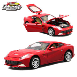 Diecast Scale Models Toys Sport Cars, Collection Vehicle For Boys With Different Colors Y200109 on Sale