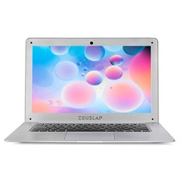 8gb Notebook Australia - ZEUSLAP 14inch 8gb ram 128gb ssd 500g'b hdd Intel Pentium win10 1920X1080P FHD cheap Notebook Computer pc Netbook Laptop