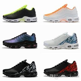 Gps low online shopping - 2019 New Designer TN Plus SE Laser Fuchsia Men Running Shoes Chaussures Tns GP Mercurial Athletic Orange White Sports Mens Trainers Sneakers