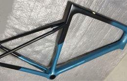 Carbon Coating Australia - Best selling 28 color custom coating ultra-light only 865g 700c road disc brake thru AXle 100*12mm 142*12mm bicycle carbon frame