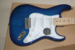 Guitar Bright NZ - ST single shake electric guitar transparent sapphire blue 22 products bright paint freeship