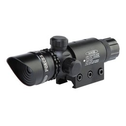 11mm Scope Rails UK - SEIGNEER Outdoor Tactical 5mW Red Laser Sight Scope 650nm Red Laser Illuminator With Tail Line Switch and 11mm 20mm Picatinny Rail Mount.