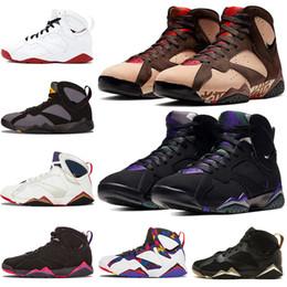 $enCountryForm.capitalKeyWord Australia - New Patta X Ray Allen 7s Men Basketball Basketball Shoes 7 Raptro Charcoal Olympic GMP Hare Bordeaux VII Men Sneakers Size US 7-13