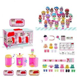 $enCountryForm.capitalKeyWord Australia - surprised doll toy generation LQL Unpacking Dolls Tear Open Color Action Figure Toys Christmas Kids Gift, 3 Pieces   Lot(about 10cm)