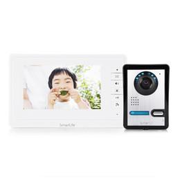 venda por atacado SmartLife SY819FA11 7 polegadas Wired Home Office Vídeo Intercom Kit