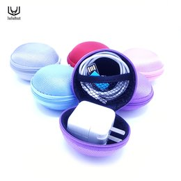 $enCountryForm.capitalKeyWord Australia - wholesale mini portable hard storage case for earphone headphone SD card zipper carrying bag for ear buds insert with small
