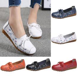 $enCountryForm.capitalKeyWord Australia - ONTO-MATO Brand Women's Comfortable Low-Top Flat Shoes With Printed Casual Shoes Nurse Dropshipping Flache Schuhe