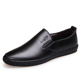 9e2b302978a Old man shOes lOafers online shopping - 2018 New Men s Cow Leather Loafers  Soft Shoes