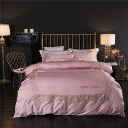 $enCountryForm.capitalKeyWord Australia - Designer Luxury Bedding Sets Juegos de Cama Pink Household Cleaning Serape Embroidery Machine Harry Potter king size