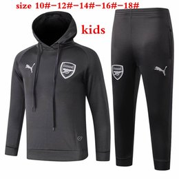 126df6279bb Wrinkle free suits online shopping - 3 sets Free DHL new Arsenal kids  Hoodies Arsenal grey
