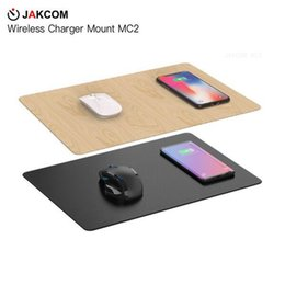 Mice Brands NZ - JAKCOM MC2 Wireless Mouse Pad Charger Hot Sale in Mouse Pads Wrist Rests as smart watch v8 items desktop your own brand phone