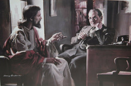 Harry Anderson DIVINE COUNSELOR Jesus Counseling Businessman Home Decor HD Print Oil Paintings On Canvas Wall Art Pictures 200109 on Sale