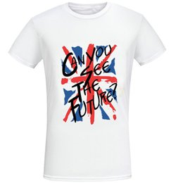$enCountryForm.capitalKeyWord Australia - Future t shirt Can you see brexit short sleeve tops England flag fadeless tees Man woman white colorfast clothing Pure color modal Tshirt