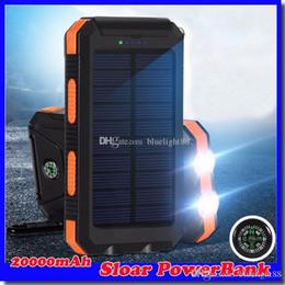 $enCountryForm.capitalKeyWord Australia - 20000mAh 2 USB Port Solar Power Bank Charger External Backup Battery With Retail Box For iPhone iPad Samsung