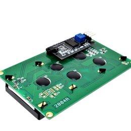 $enCountryForm.capitalKeyWord NZ - Iic i2c twi 2004 Serial Blue Backlight Lcd Module For Arduino Uno R3 Mega2560 20 X 4 2004