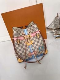 thread crochet pattern 2019 - NEONOE handbags classic padlock silk screen pattern shoulder messenger bag N41066 TOP OXIDIZED REAL LEATHER TOTES CROSS