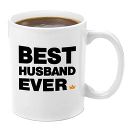 porcelain gift ideas Australia - Best Husband Ever | Premium 11oz Coffee Mug Set - My Husband Gifts, Gifts from Wife, Husband and Wife Gifts, Gift Ideas From Wife