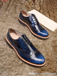 $enCountryForm.capitalKeyWord Australia - Latest Low-key Costly Men With Air holes Leather Shoes Imported Cowhide Fabric Leather Outsole Men Business Etiquette Shoes