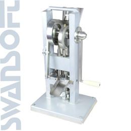 Venta al por mayor de SWANSOFT TDP0 Manual solo golpe que hace la máquina fabricante de accionamiento manual tipo Mini