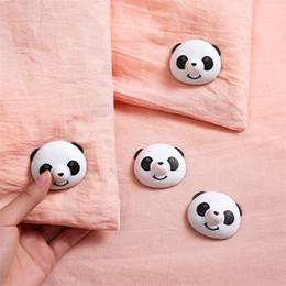 Panda Colcha Titular Segurança Multifuncional Household Fixator Quilts Ângulo Anti Fugitivo Adorável Portátil Fivela Venda Quente 2 8pg J1 em Promoção