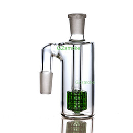glass water pipe ash 2019 - 14mm Ash Catchers 90 degress Ash Catcher Glass Bong Ashcatcher Water Pipes small bongs dab oil rig Ashcatchers smoking a