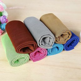 magic towel for children NZ - New Arrival Magic Ice Towel 80*30cm Multifunctional Cooling Summer Cold Sports Towels Cool Scarf Ice Belt for Children Adult
