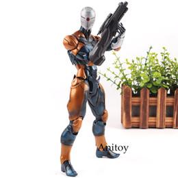 $enCountryForm.capitalKeyWord UK - Hot Toys Metal Gear Solid Cyborg Ninja Gray Fox Figure Tactical Espionage Action PVC Play Arts Kai Figurines Collection Toys