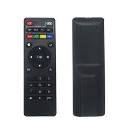 Toptan satış Android TV Box Için evrensel IR Uzaktan Kumanda H96 pro / V88 / T95 Max / H96 mini / T95Z Artı / TX3 X96 mini Değiştirme Uzaktan Kumanda