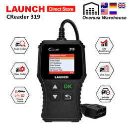 obd reader codes Australia - Launch X431 Creader 319 OBD2 Scanner obd 2 Car Diagnostic Tool CR319 Auto ODB Code Reader Car Scan Tools PK ELM327 OM123 AD310