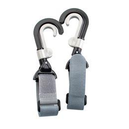 $enCountryForm.capitalKeyWord Australia - 2Pcs Infant Baby Stroller Hook Holder Pram Double Rotate Hook Pushchair Hanger