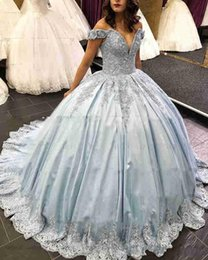 0ea621c86b3b ClassiC ball gown prom dresses online shopping - 2019 New Sexy Quinceanera Ball  Gown Dresses Off