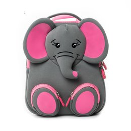 Backpacks For Kindergarten Australia - Cocomilo Brand Kids Cute Elephant Kindergarten Waterproof Schoolbag Boys Cartoon Children Backpacks For Girls Animal School Bags