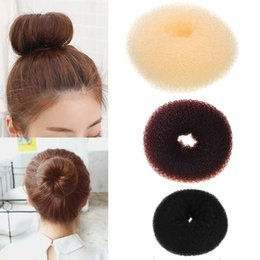 updo accessories Australia - M MISM 1PC Updo Sponge Bun Hair Maker Making Tool Donut Hair Accessories Elastic Band For Women Girls Headdress