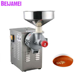 Sauce machineS online shopping - BEIJAMEI Peanut Butter Machine high quality commercial sesame grinder sauce paste making machine W price
