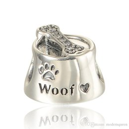 Pet jewelry autumn silver charms S925 sterling silver fits for pandora style charms bracelets free shipping LW570H8