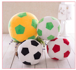 Wholesale tv sales online – design Hot sale of the simulated football plush toy doll ball with a large cushion for the children presents