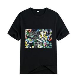 $enCountryForm.capitalKeyWord UK - Fashion-[flash time kill] high-grade summer cotton T-shirt men slim printed T-shirt round neck half sleeve undershirt short sleeve