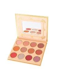 Eyeshadow Palette Full Size Australia - Viseart Edit Collection Oden's Eye Makeup Matte Warm Neutral Freja diva 12 Color Eyeshadow Palette 20g