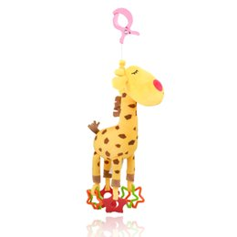 $enCountryForm.capitalKeyWord Australia - Baby Plush Clip on Toys Developmental SoftAnimal HandbellsToys Giraffe SeriesTooNaBaBa