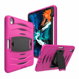 $enCountryForm.capitalKeyWord Australia - iPad case Hybrid Shockproof Armor Holder for Ipad 11 inch Protect shell cases have Pen slot