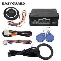 $enCountryForm.capitalKeyWord NZ - Universal RFID car alarm system with remote engine start stop, push button start stop, work with original car alarm
