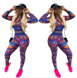 Discount womens cardigan jackets - Womens tracksuits women two piece outfits women jacket jogging sport suit sweatshirt tights sport suit casual cardigan z
