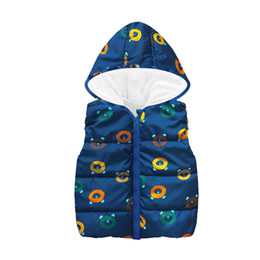 baby boy sleeveless top Australia - Rainbow Star Baby Boys Vest Children Waistcoat Clothes Dino Kids Sleeveless Jacket Coat Boy Tops Hooded Overcoat Fleece Outfits
