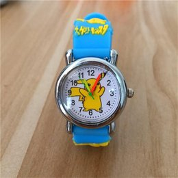 Silicone Childrens Watch Anime Dolphin Children Quartz Wristwatches Cartoon Rubber Student Boy Girl Kids Life Waterproof Watch And To Have A Long Life. Watches