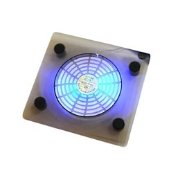 Base cool laptops online shopping - USB Notebook Cooler Blue LED Light Heatsink Laptop PC Base Computer Cooling Pad Heat Dissipation Bracket