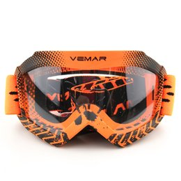 ktm off road helmet NZ - VEMAR Childen Motorcycle Goggles Clear Kids MX MTB Off-Road Dirt Kid Bike Goggles For Motocross Helmet gafas Racing Child Glasses For KTM