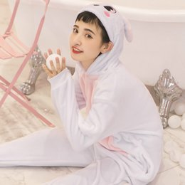 cute kigurumi costumes 2019 - Animals Kigurumi Unicorn Costume Cute Pajamas Girl Kids Onesie Flannel Spider Man Autumn Winter Anime Jumpsuit Disguise