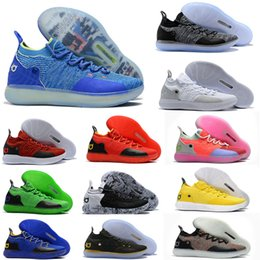 a01ff7f7ffb 2019 New KD 11 EP White Orange Foam Pink Paranoid Oreo ICE Basketball Shoes  Original Kevin Durant XI KD11 Mens Trainers Sneakers Size US7-12
