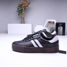 $enCountryForm.capitalKeyWord Australia - Hot Sale- Samba rose Gazelle Classic shoes high quality green Black Blue red pink white Women's Lightweight Student Casual Shoes Size 36-44